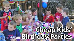 birthday party for kids 20 kids birthday party cheap birthday
