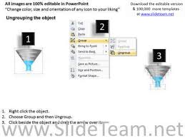 4 stage sales and marketing funnel powerpoint slides and ppt