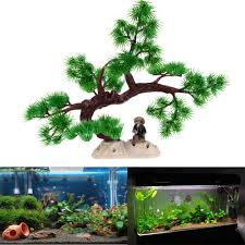 philippines artificial plant tree aquarium fish tank rockery