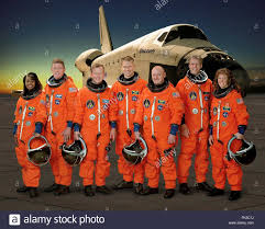 space shuttle astronaut group portrait of the sts 121 space shuttle crew astronauts in