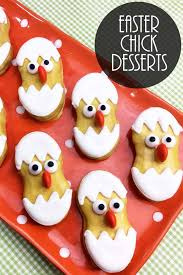 cute desserts easter chick making cute easter desserts the country chic cottage
