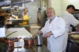 le chef en cuisine le chef varois alain senderens pilier de la nouvelle cuisine est