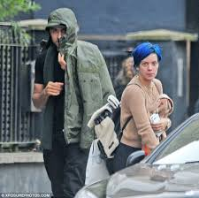 lily allen moving into new home as she s pictured with daniel