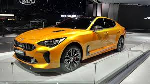 kia supercar vwvortex com 2018 kia stinger officially unveiled production gt