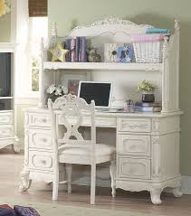 cinderella white writing desk with hutch and chair for 899 94