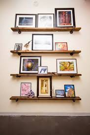 Wood Shelves Designs by Reclaimed Wood Shelves For Eco Stylish Interiors