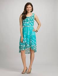Dress Barn Collection Misses Dresses Floral High Low Dress Dressbarn Teen Girls