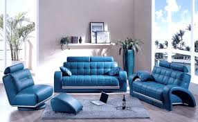 Baby Blue Leather Sofa Amazing Blue Living Room Decor Or Living Blue Leather Living Room
