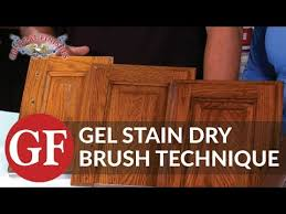 How To Lock Kitchen Cabinets How To Gel Stain Kitchen Cabinets General Finishes