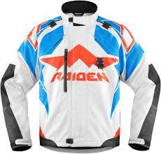 white motorcycle jacket icon textile motorcycle jacket icon raiden dkr jackets textile