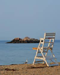 singing beach lifeguard chair manchester by the sea ma photograph