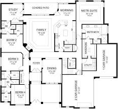 Floor Plan Of 4 Bedroom House 289 Best Lake House Plans Images On Pinterest Architecture