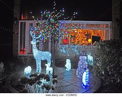Christmas Decorations For Outside outdoor christmas decorations home stock photos u0026 outdoor