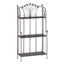Bakers Rack Wrought Iron French Provincial Interior Decor With Wrought Iron Bakers Racks