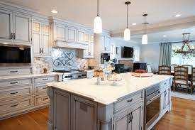 Eat In Kitchen Designs by Long Kitchen Designs Layout Long With Eat In Center Kitchen