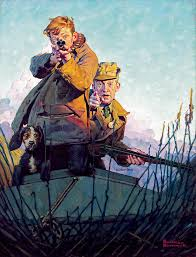 his duck painting by norman rockwell