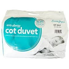 Toddler Duvet Tog Sarah Jayne Anti Allergy Duvet Quilt 4 5 Tog Cot Bed Amazon Co