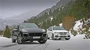 porsche cayenne vs bmw x5 bmw x5 m50d vs porsche cayenne s diesel 2015 suv tt