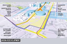 Virginia Beach Va Map by Central Beach District U0026 Arena Master Plan Makes New Cultural