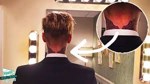 justin bieber gets new tattoo on neck youtube