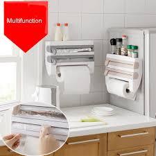 distributeur papier cuisine cuisine serviette papier de stockage titulaire en aluminium