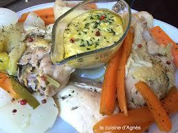 cuisiner la poularde poularde sauce gribichela cuisine d agnès