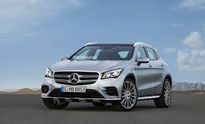mercedes headlights facelifted 2018 mercedes benz gla spied flaunting new led headlights