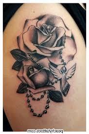 black cross tattoos design pictures