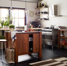kitchen island cupboards a look at west elm kitchen island storage ideas for no cupboards