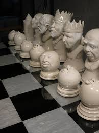 Chess Piece Designs by If You Enjoy Things That Are Awesome You Must See This Chess Set