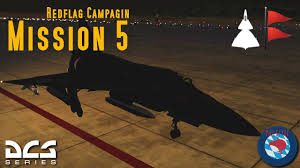 The Red Flag Campaign Ajs 37 Viggen 16 2 Red Flag Campaign Mission 5 Youtube