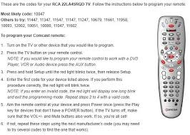 Sony Tv Blinking Red Light How To Program Comcast Remote To Tv 5190