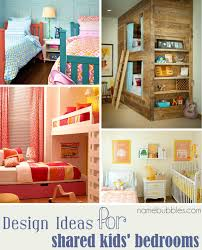 design ideas for shared kids rooms