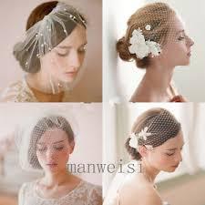 wedding headdress wedding headdress bridal feather net bow birdcage veil
