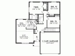 contemporary house plans single story single story contemporary house plans