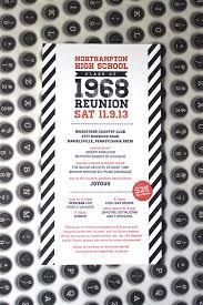 high school reunion invitations loveleigh invitations llc northton high school reunion