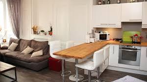 amenager cuisine ouverte amenagement salon cuisine ouverte photo 9 08280386 et 1 lzzy co