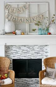 brilliant mantel decoration ideas for thanksgiving