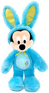 easter mickey mouse disney scented mickey mouse plush bunny 17 blue