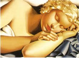 Tamara De Lempicka Art by Tamara De Lempicka Paintings 1935 Dormeuse Paintings Art Gallery