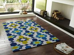 Modern Yellow Rug Blue And Yellow Area Rugs Techieblogie Info Inside Ideas 14