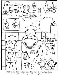 coloring pages of kitchen things cooking coloring pages kitchen coloring page cooking coloring pages