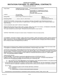 Business Requirements Document Template Pdf Bidding Janitorial Contracts Pdf By Nzx76251 Sample Janitorial