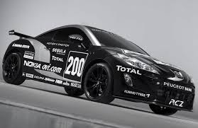 peugeot sports car team peugeot rcz nokia rcz 2 0 hdi sport coupe