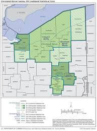 Elyria Ohio Map by U S Census Bureau Metropolitan Population Estimates July 1 2016