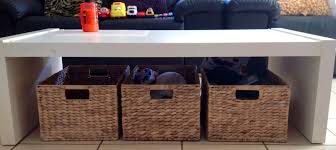 coffee tables with storage baskets coffe table ideas