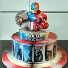 captain america cakes captain america civil war cake cake by simonelopezartist