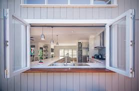 kitchen pass through ideas beach side alterations and addition of weatherboard home by sketch