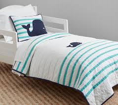 htons whale toddler quilt pottery barn
