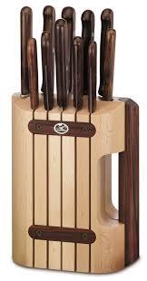bloc porte cuisine victorinox bloc porte couteaux en bois 11 pièces 5 1150 11